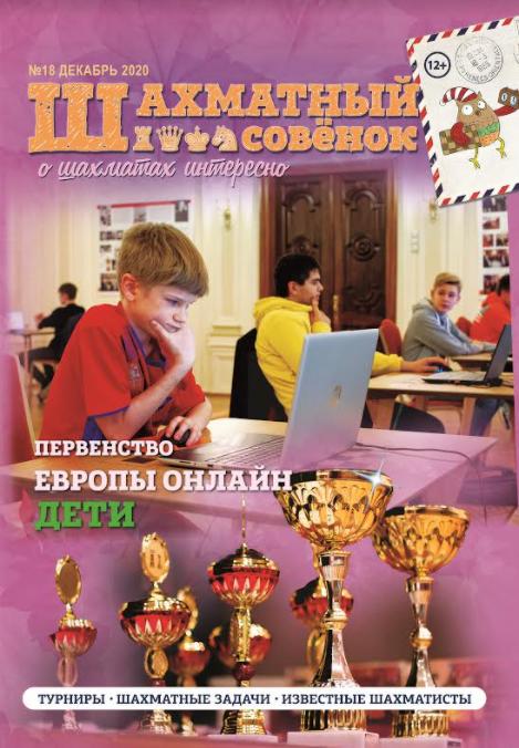 Журнал Шахматный совенок выпуск номер 17